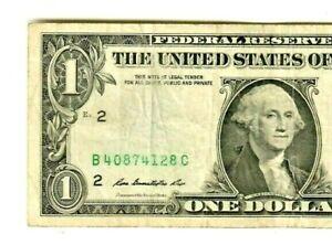 "$1 ""MISSING SEAL ERROR""  2009 $1 ""MISSING SEAL ERROR"" $1  (NEW YORK) 2009 NICE!!"