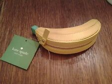 NWT Kate Spade Flights of Fancy Banana Coin Purse Leather