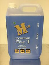 Motorcycle Cleaner, M16 Extreme 5 Litre EBC, Motocross, ATV,Bicycle gets muc off