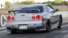 NISSAN R34 GTT GT SKYLINE S-TUNE STYLE REAR BAR JSAI AERO