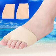 2x Fabric + Gel Metatarsal Pads Ball of Foot Gel Pads Cushions Morton's Neuroma