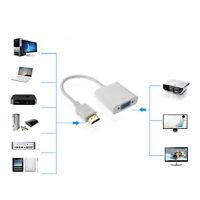 Convertitore Adattatore da HDMI a VGA 1080p Spina HDMI Placcata HDTV PC USB DVD