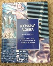 Book - Beginning Algebra by Margaret L. Lial, Charles D. Miller and E. John, Jr