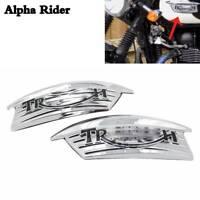 For Triumph Bonneville Scrambler T100 Thruxton Fuel Petrol Tank Decal Sticker