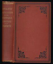 Cross and Self Fertilisation in the Animal Kingdom by C. Darwin, lst Ed.1877, VG