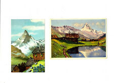 CPSM Suisse Illustration Lot de 2 cartes