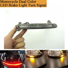 Motorrad Sitzrahmen Hoop Loop Doppelfarben-LED-Blinker-Bremslicht für Honda