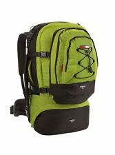 NEW BLACK WOLF CANCUN 70L TRAVEL PACK RUCKSACK BACKPACK CAMPING HIKE CACTUS LIME