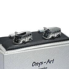 Smart VW Camper Van Novelty Cufflinks  by Onyx Art New Boxed