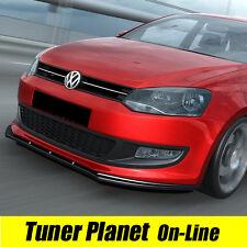 LAMA SPOILER sotto PARAURTI ANTERIORE VW POLO 6R nuova ABS!