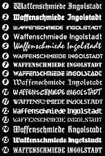 Waffenschmiede Ingolstadt - 90 cm lang, 16 verschiedene Schriften!!! Freie Wahl!