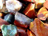 Natural FANCY JASPER - 1000 Carats - Rough Rocks  - Lapidary Cabbing Tumbling