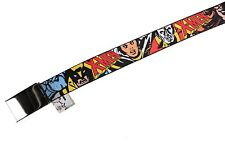 Marvel Original Buckle-Down X-Men Comics Super-Heroes Adjustable Belt -NWT