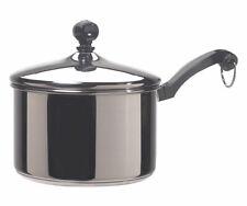 Farberware  Classic Series  Stainless Steel  Saucepan  2 qt. Silver