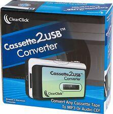 Cassette to USB Converter / convert cassette tapes to cd / mp3