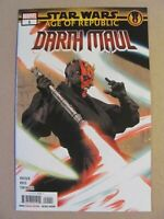 Star Wars Age of Republic Darth Maul #1 Marvel 2019 One Shot 9.6 Near Mint+