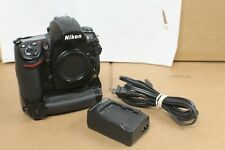 Nikon D700 12.1MP Digital SLR Camera - Black (Body Only) w/ Side Grip Pack