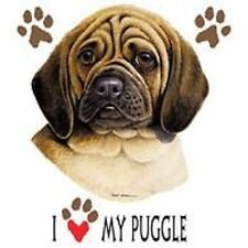 Puggle Love T Shirt Pick Your Size 7 X Large to 14 X Large