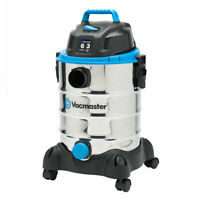 Vacmaster VQ607SFD 6 Gallon Stainless Steel Portable Wet Dry Vac Vacuum Cleaner