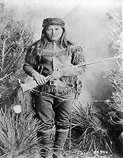 METAL FRIDGE MAGNET Tzoe aka Peaches Chiricahua Apache Native American Indian