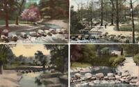 SHEFFIELD -  STEPPING STONES  ENDCLIFFE  WOODS : 4 x Postcards Yorkshire ( Y20 )