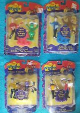 The Wiggles GREG, JEFF, ANTHONY, & MURRAY Spin Master sets, VERY RARE Not Opened