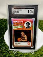 2018 Trae Young RC Rookie Card Hoops #5 Class Of 2018 HOLO Sgc 10🔥comp Psa Bgs