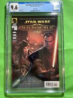 Star Wars The Old Republic Threat of Peace 1 Variant CGC 9.6 W 1st Darth Angral