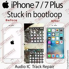 iPhone 7 7Plus NOT BOOTING BOOT LOOP STUCK IN APPLE LOGO AUDIO IC Repair Service