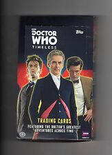 Doctor Who Topps Timeless 4 Time Travellers or Dalek cards of your choice