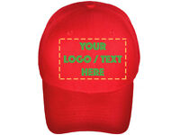 Personalized Custom made hat cap Custom Embroidered your logo