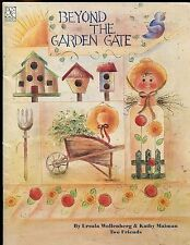 Beyond The Garden Gate Tole Decorative Painting Pattern Book Wallenberg Malman