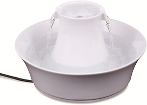 PetSafe Drinkwell Ceramic Avalon Pet Fountain, 2 Litre, Automatic Drinking for