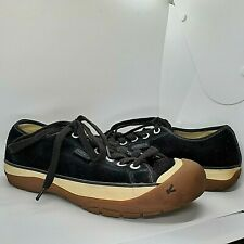 Keen Mens 10 Suede Leather Lace Up Hiking Walking Bumper Shoes Sneakers