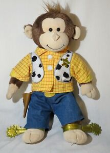 Sheriff Woody Toy Story Build a Bear Monkey, Great condition, so cute!