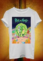 Rick and Morty Advanture Series FunnyMen Women Unisex T Shirt Tank Top Vest 47