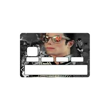 Stickers Autocollants Skin Carte de Crédit CB Michael Jackson 1070 1070