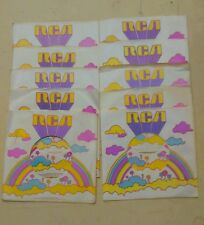 (10) RCA 1971 45 Records Sleeve Pop Art VB Peter Max Like