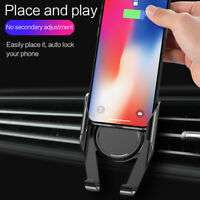 Universal Air Vent Mount Stand Car Holder Cradle for Cell Phone Samsung iPhone