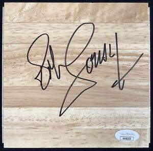 Bob Cousy Signed Floor Board Basketball Court Boston Celtics Autograph JSA