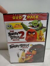 Angry Birds Movie, The + Angry Birds Movie 2, The (2 Pack) (Dvd)