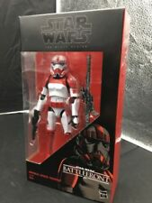 "Hasbro Star Wars Black Series 6"" inch Imperial ShockTrooper Walmart Exclusive"