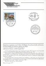ITALIA 1997 REGINA DEI BELGI BOLLETTINO COMPLETO DI FRANCOBOLLI  FDC