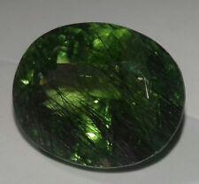 100% Natural Rotiled Peridot of 17.70 crt frm Pakistan, big size, nice cutting.