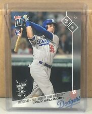 2017 TOPPS NOW #HRD-3 CODY BELLINGER LOS ANGELES DODGERS ROOKIE HOME RUN DERBY
