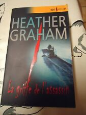 2 BEST SELLERS HARLEQUIN n° 210 & 260 - HEATHER GRAHAM - LA GRIFFE DE L'ASSASSIN