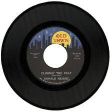 """DONALD HEIGHT  """"CLIMBIN' THE POLE c/w A TRIBUTE TO SAM""""  NORTHERN SOUL   LISTEN!"""
