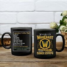 World-Of-Warcraft Game Lovers Gift, Legendary Social Distance Coffee Mug