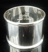 Silver napkin ring Wai Kee Hong Kong, 20th Siècle