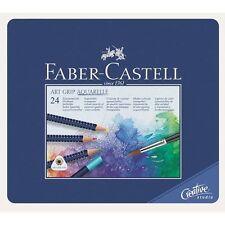 Faber Castell Watercolour pencil ART GRIP AQUARELLE tin of 24